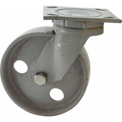 "Fairbanks Swivel Caster N22-8-IRB - Semi-Steel 8"" Dia. - 1200 Lb. Capacity"