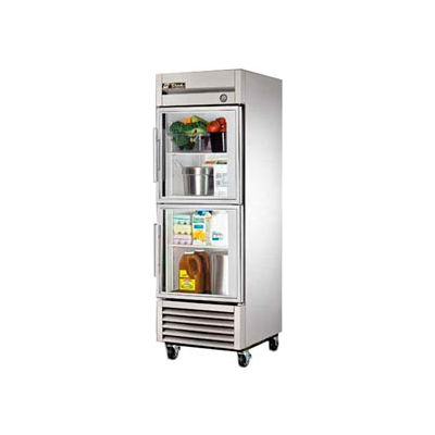 True® T-23G-2 Reach In Refrigerator 23 Cu. Ft. Stainless Steel
