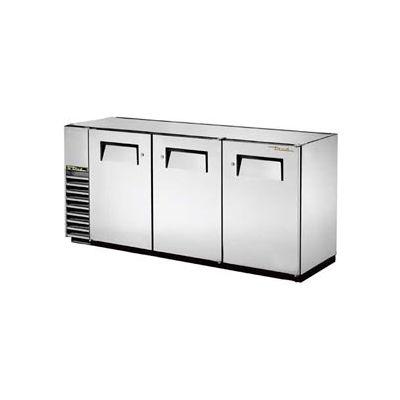 "True® TBB-24GAL-72-S Back Bar Cooler 3 Section - 73-1/8""W X 24-1/2""D X 34-1/4""H"