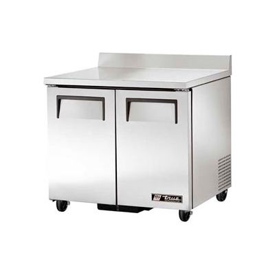 """Work Top Refrigerator 2 Section - 36-3/8""""W x 30-1/8""""D x 33-3/8""""H - TWT-36"""