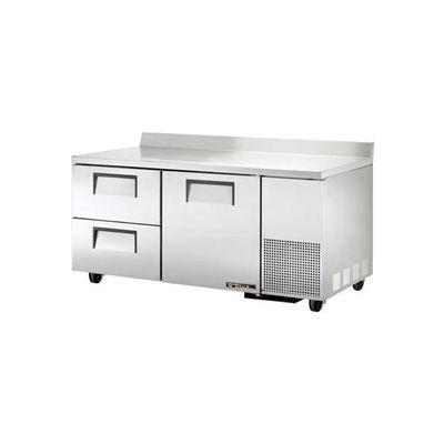 """Deep Work Top Refrigerator 2 Section 67-1/4""""W x 32-3/8""""D x 33-3/8""""H - TWT-67D-2"""