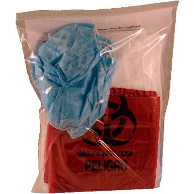 First Voice™ Deluxe Bloodborne Pathogen Clean-Up Kit, Polybag