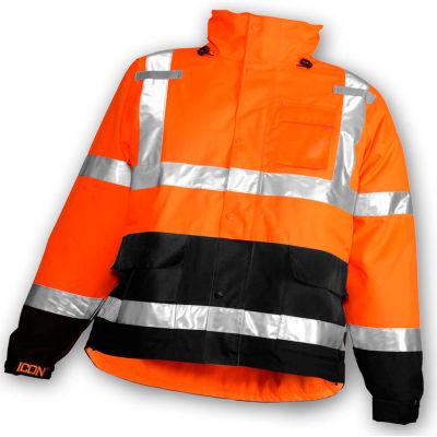 Tingley® J24129 Icon™ Jacket, Fluorescent Orange/Red/Black, 5XL