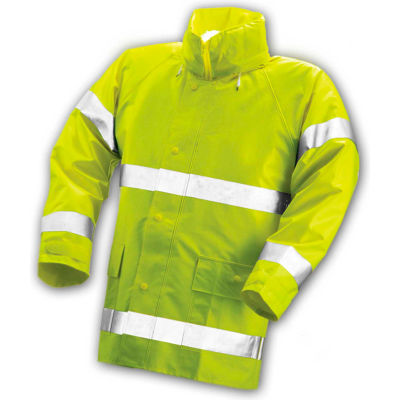 Tingley® J53122 Comfort-Brite® Jacket, Fluorescent Lime, Small