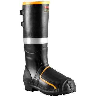 Tingley® MB816B Metatarsal Steel Toe Boots, Black Steel Midsole, Size 15
