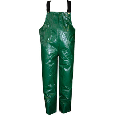 Tingley® O22008 Iron Eagle® Plain Front Overall, Green, SnapLock Buckles, Large