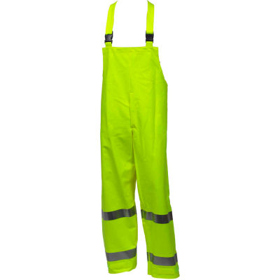 Tingley® Eclipse™ Class E FR Overall, Snap Fly Front, Fluorescent Yellow/Green, 3XL