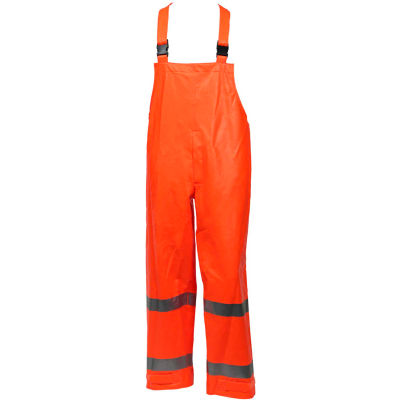Tingley® Eclipse™ Class E FR Overall, Snap Fly Front, Fluorescent Orange/Red, 5XL