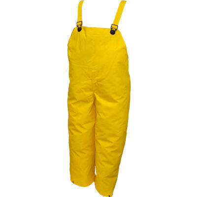 Tingley® O56007 DuraScrim™ Plain Front Overall, Yellow, Small