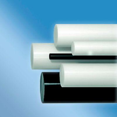 AIN Plastics Acetal Plastic Rod Stock, 2-3/8 in.Dia. x 12 in.L, Natural