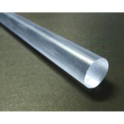 "AIN Plastics Polycarbonate Rod Stock 1"" Dia 48"" L, Black"