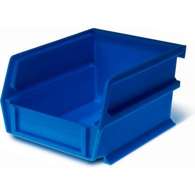 """LocBin, 3-210B, 5-3/8""""L x 4-1/8""""W x 3""""H, Blue (24 pc)"""