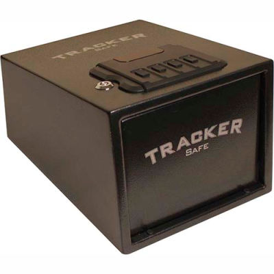 "Tracker Safe Quick Access Pistol Safe Electronic Combo Lock - QAPS-01 - 9""W x 12""D x 7""H - Black"