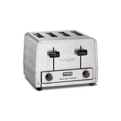 Waring WCT800RC - Toaster, Heavy Duty, Stainless Steel 4 Slice