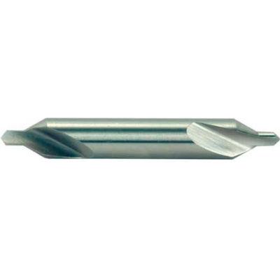 """# 10 HSS Imported 60 ° Drill & Countersink Plain RH-1"""" Body D x 3/8"""" Drill D x 3/8"""" Drill L"""