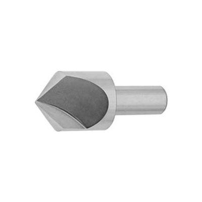 "Import HSS Single Flute Countersink, 100°, 1/2"" DIa."