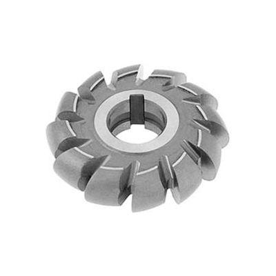 """HSS Import Convex Milling Cutter, 1"""" Circle DIA x 4-1/4"""" Cutter DIA x 1-1/4"""" Hole"""
