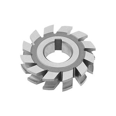 "HSS Import Concave Milling Cutter, 3/4"" Circle DIA x 3-3/4"" Cutter DIA x 1-1/4"" Hole"