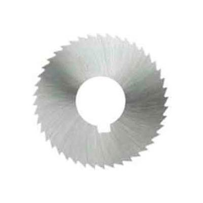 "Imported HSS Screw Slotting Saw, 2-1/4"" DIA x .028"" Face x 5/8"" Hole x 60 Teeth"