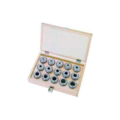 ER32 Metric Spring Collet Set, 18 Piece, 3mm to 20mm, Import