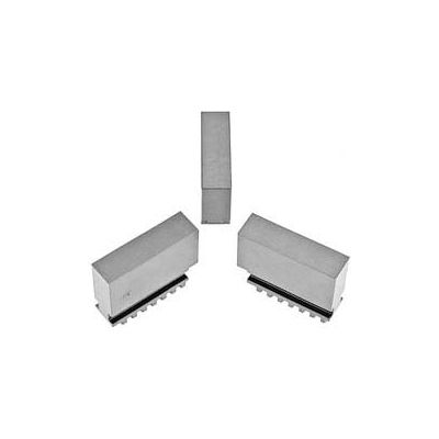 """Bison Soft Blank Jaws for Scroll Chuck,Quick Clamping, 3"""" 3 Piece Set"""