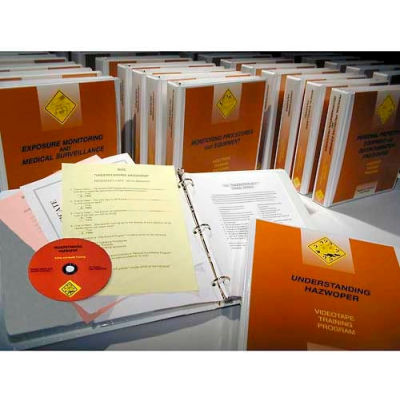 Complete 23 Course HAZWOPER Training Series CD-ROM Package