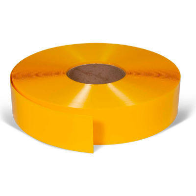 "ArmorStripe® Ultra Durable Floor Tape, Yellow, 2"" x 100', 3 Pack, Wear Resistant PVC - Pkg Qty 3"