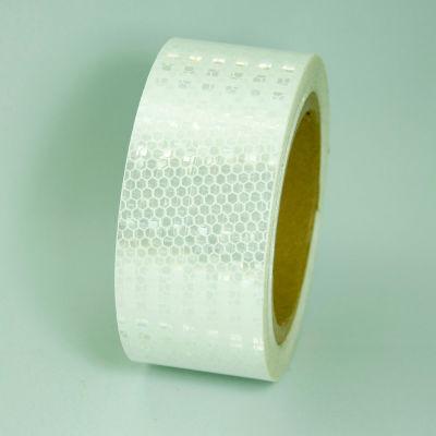 """Super Brite Reflective Tape, White, 2""""W x 30'L Roll, HRT230WH"""