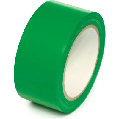 """Floor Marking Aisle Tape, Green, 2""""W x 108'L Roll, PST211"""