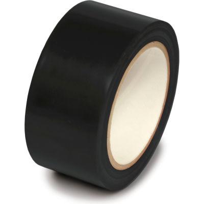 """Floor Marking Aisle Tape, Black, 2""""W x 108'L Roll, PST215"""