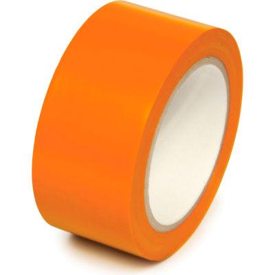 "Floor Marking Aisle Tape, Orange, 2""W x 108'L Roll, PST218"