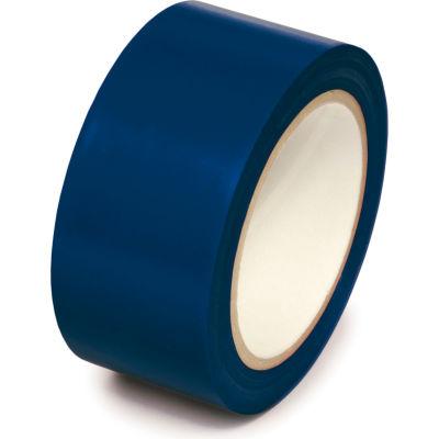 """Floor Marking Aisle Tape, Dark Blue, 2""""W x 108'L Roll, PST221"""