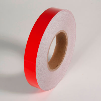 "Reflective Marking Tape, Red, 1""W x 150'L Roll, RST531"