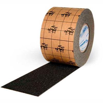 """True Grip Anti-Slip Tape, Black, 12""""W x 60'L Roll, SG7012CB"""