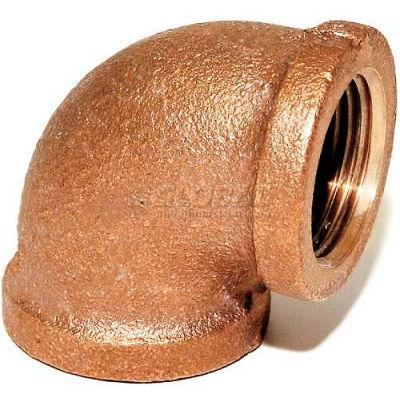 "Trenton Pipe Lf60024 2-1/2"" 90 Degree Elbow, Lead-Free Cast Bronze - Pkg Qty 10"