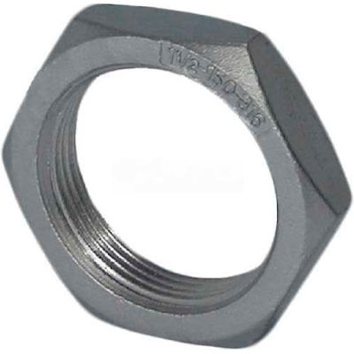 "Trenton Pipe Ss304-65930 3"" Class 150, Locknut, Stainless Steel 304 - Pkg Qty 5"