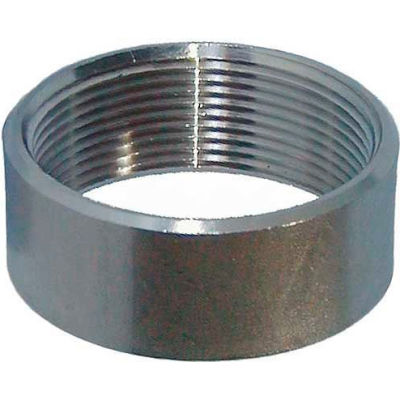 """Trenton Pipe Ss316-64212 1-1/4"""" Class 150, Half Coupling, Stainless Steel 316 - Pkg Qty 10"""