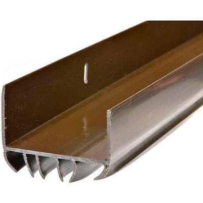 Frost King Vinyl Slide-On Door Bottom For Metal Doors, Brown - Pkg Qty 12