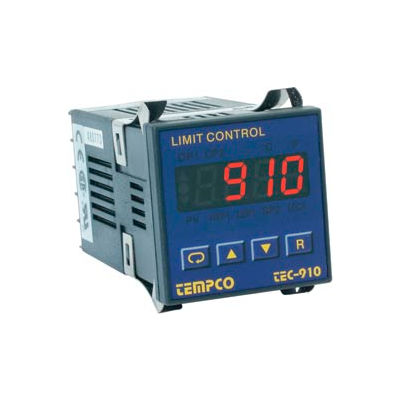 Temperature Control - Prog, 90-250V, Relay2A, Hi-Limit, TEC16001