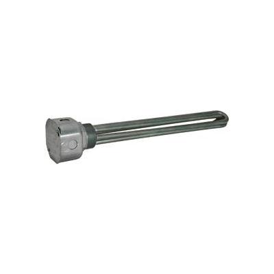 """Tempco 304 Stainless Steel Immersion Heater TSP02244, 1"""" NPT 9-1/4"""" D 1500W 120V"""