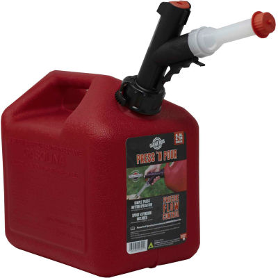 Briggs & Stratton PRESS N POUR 2 Gallon Gas Can, GB320