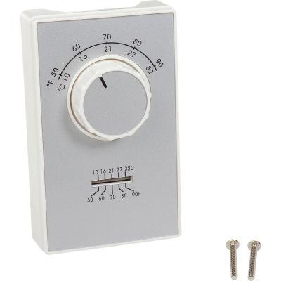TPI Line Voltage Thermostat Single Pole Heat Only ET9STS