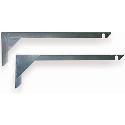 TPI Wall Mount Brackets 2 Per Pkg VMB-41-SS For Infrared Heaters