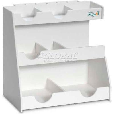 """TrippNT™ White PVC Top Loader Workstation, 13""""W x 8""""D x 12""""H"""