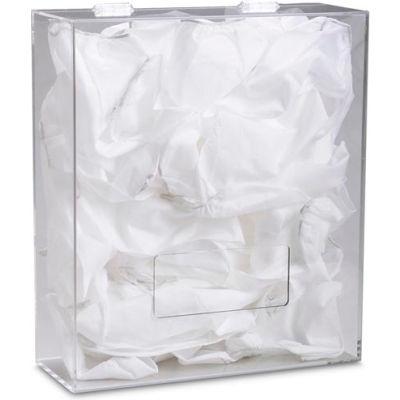 "TrippNT™ Acrylic Medium Apparel Dispenser for Hairnet/Beard Covers, 15""W x 18""H x 6""D"