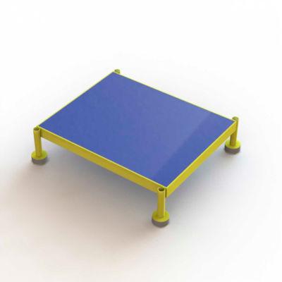 "24 X 19 Inch Adjustable Height Steel Work Platform, 5""H To 8""H - MCOS24195"