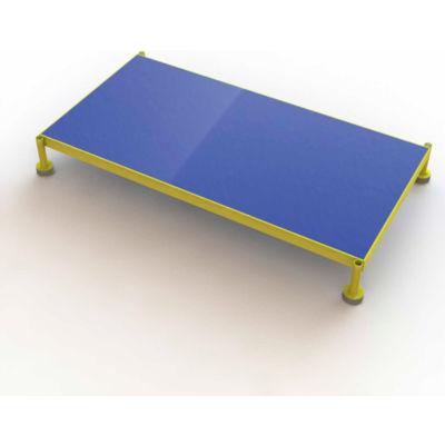 "48 X 24 Inch Adjustable Height Steel Work Platform, 9""H To 14""H - MCOS48249"