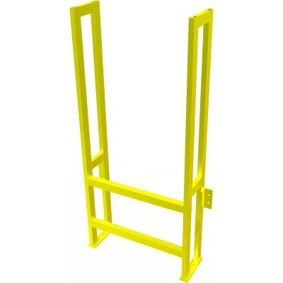 "U-Design Max-Access Aluminum Work Platforms - 2 Step 20""H 90 Deg. Stair Unit - UAP0290"
