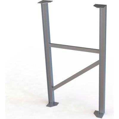 "U-Design Max-Access Aluminum Work Platforms - 70""H Tower Support - UAP070"