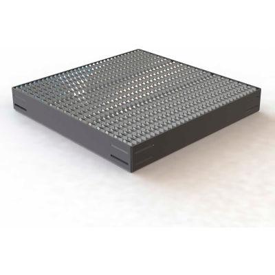 "U-Design Max-Access Aluminum Work Platforms - 36""x36"" Platform W/ Serrated Tread - UAP3636"
